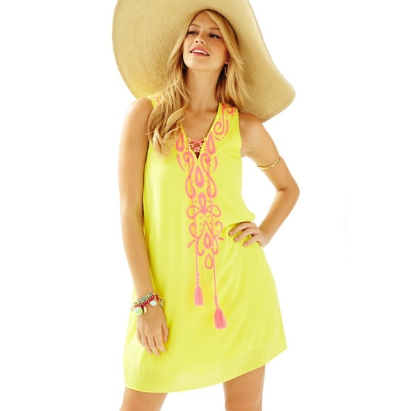Lilly Pulitzer Bethany Embroidered Swing Dress